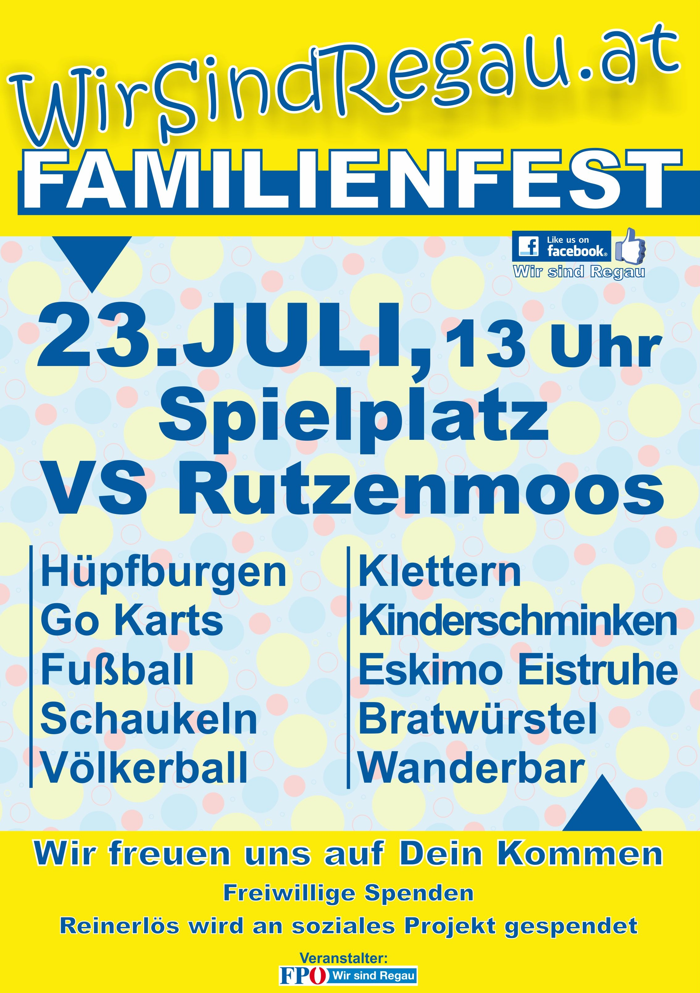 Plakat WSR FamFest16